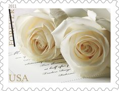 2011 Wedding Roses Stamp