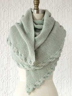 Calza Wrap Knit Pattern