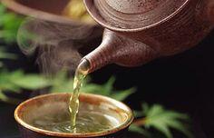 hot green tea...my comfort