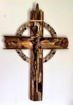 driftwood+art | Driftwood Cross Art Project | The Covenant Church