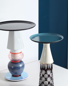 <p>Design label UNICORN BERLIN offers these gorgeous limited edition pieces of vintage vases reworked as side tables. After working for many exclusive furniture brands, Andreas Berlin started to creat