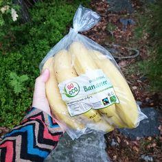 Marias Matglede ♥: Sunn og søt banansplitt på grillen!
