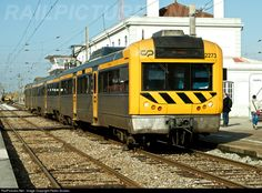 Regional train from Aveiro to Coimbra: 2273 CP Portugal Alstom at Pampilhosa, Portugal by Pedro Soares