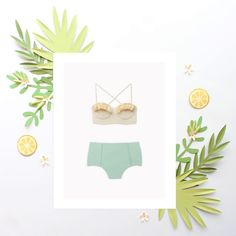 Swimwear Line in Paper   Product Line Paper Illustration   Summer Brand Picks   Product Highlight   Blogger Illustrations   Fashion Paper Portraits   Custom Fashion Illustrations by Brittani Rose   Unique fashion paper illustrations   Paper creations   Plant Inspo via @brittanirose + brittanirosepaper.com