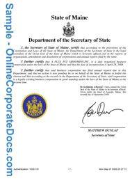Get Wyoming Good Standing Certificate Corporate Good