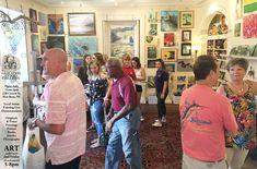 was hopping during / in downtown Thanks to all who attended, brought bought and got a signed copy of the newest by See y'all for the next one on August at 228 Craven Street, to see live painting demonstrations with Carol Jones and Carol Jones, New Bern, Art Walk, Greater Good, Watford, Contemporary Artwork, North Carolina, The Creator, Lisa