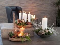 Plantorama viser ideer til adventskrans og juledekorationer