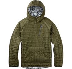 Burton Cabin Pullover Jacket - Reversible