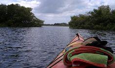 Entering Frog Creek, off Terra Ceia Bay in Palmetto, Fl