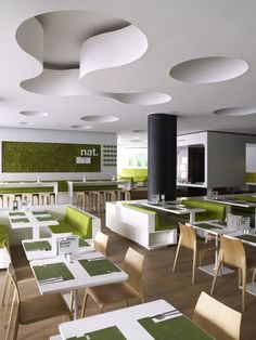 Restaurant - white.green