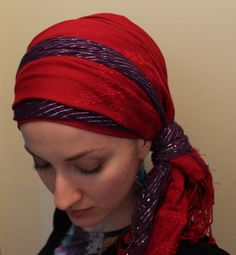 Head covering discussion in comments.