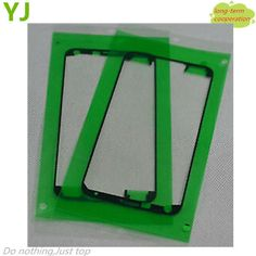 50 pieces/lot HK Free shipping for OEM Front Housing Frame Adhesive for Samsung Galaxy S5 G900 i9600 G900F
