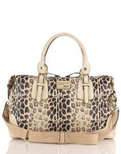 Lipsy Leopard Overnight Bag