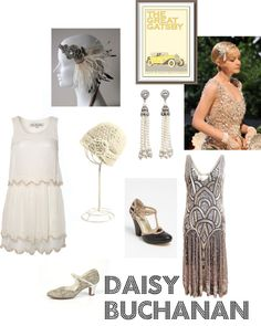 Daisy Buchanan costume idea
