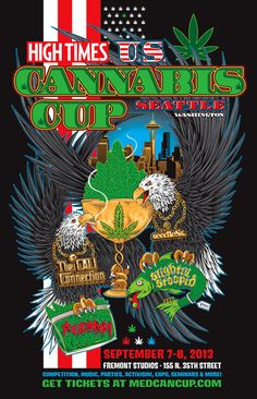 2013 Seattle High Times MedCan Cup… Dabs, Blunts and a Dope Party!