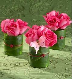 la decoración de mis mesas: Ideas de centros de mesa sin floreros II