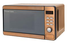 Russell Hobbs RHMD804CP Copper Digital Microwave, Steel/Plastic/Glass: Amazon.co.uk: Kitchen & Home Microwave Oven, Ile De Wight, Combination Microwave, Bubble, Russell Hobbs, Domestic Appliances, Side Coffee Table, Safe Glass, Plastic