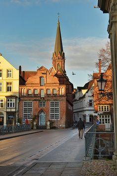 Lüneburg; Fernsehtelenovela mit dem Herzstück roter Rosen