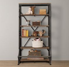 French Library Shelving