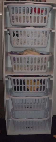 Instructions for diy laundry basket shelf house pinterest helping me get organize do it yourself home projects from ana white solutioingenieria Gallery