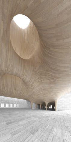 Helsinki Guggenheim Atrium