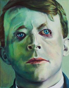 KatharinaZiemke- Walter Yeo-2011-oil on canvas-50x40cm