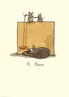 Illustrations by Anita Jeram Anita Jeram, Funny Animals, Cute Animals, Children's Picture Books, Cute Illustration, Doodle Art, Cat Art, Cute Drawings, Penny Black