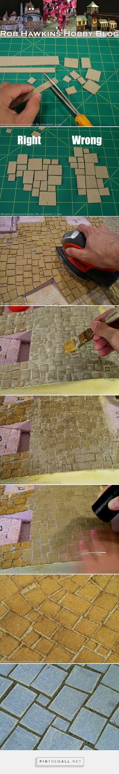 Rob Hawkins Hobby: Terrain Tutorial: Flagstone Streets - created via https://pinthemall.net