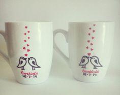 painted mugs - Buscar con Google