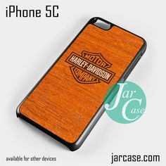 harley davidson wood pattern Phone case for iPhone 5C and other iPhone devices