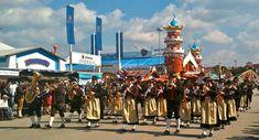 I #Trachten #Schützenzug, una delle #sfilate all' #Oktoberfest.