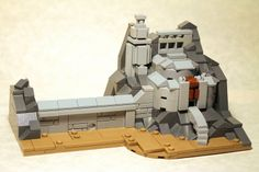 LEGO Micro Helm's Deep by George G - on Flickr