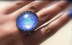DIY IDEAS: Jewelry Rings with Nail Polish   Simple & Easy Tutorial