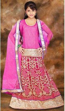 Pink Color Net A Line Style Girl Readymade Lehenga Choli   FH488975105 #girls , #kids , #readymade , #lehenga , #babys , #teenagers , #wedding , #fashion , #boutique , #shopping , #style #heenastyle , #clothing , #dresses , @heenastyle , #online , #asian , #indian , #fashion , #henna , #dress