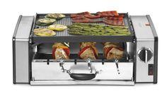 Quero: Grill que cozinha vários tipos de alimentos de uma vez só