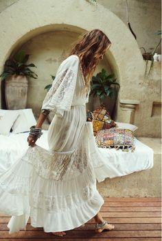 Boho Dress #mariage #wediing