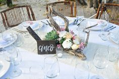 Table Decor, Table Settings, Table Arrangments, Dinner, Tulum, Beach, Destination, Wedding, By: Tulum Living Weddings Photo from Nicole + Michael collection by Michael Castorino