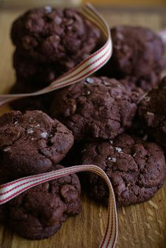 dark chocolate and olive oil cookies | london bakes