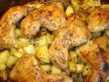 Receita Frango com batatas no forno - Petitchef