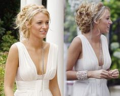 Serena's White Party Hair Updo from Gossip Girl. Tutorial: http://www.youtube.com/watch?v=UDgGxTQqwKw