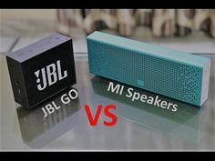 MI Bluetooth Speakers vs JBL Go