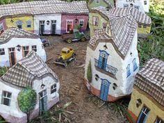Let's make a village...PedraBrasil: Pedras pintadas