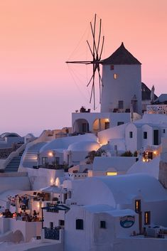 Sunrise in Santorini, Greece