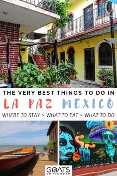 Travelling to Baja California Sur? Don't miss these 21 things to do in La Paz! Go whale watching, swim with whale sharks, eat delicious Mexican food & more. Mexico Vacation, Mexico Travel, Vacation Deals, Travel Deals, Tulum, Baja California Mexico, Stuff To Do, Things To Do, Cities