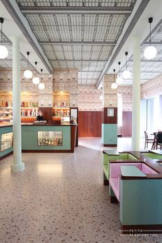 What if film director Wes Anderson, known for The Grand Budapest Hotel and The Royal Tenenbaums, was asked to design a cafe? He was. And the result is Bar Luce in Milan. And yes, it does look like you're walking in a film set with...