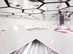 Mirrors — 'the positive floor' by francesco maria bandini for interfaceFLOR.