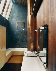 Bathroom Badezimmer, Architektur, Neue Wege, Wohnungseinrichtung,  Badezimmer Innenausstattung, Innenraum Mit Ziegelstein