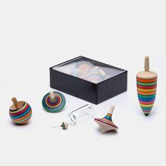 Mader Kreisel-Lernset gestreift in Box | Echtkind