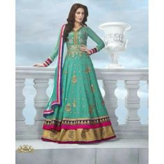 @ $136 Impressive Dream Collection Long Anarkali with FREE shipping offer worldwide.