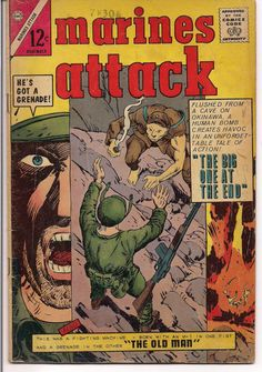 Charlton Comics War Stories MARINES ATTACK & So Many More @QualityComicsAmerica #QualityComicsAmerica